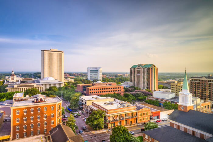 Tallahassee, Florida | 100 Up-and-Coming Real Estate Markets to Watch in 2020 | Buildium