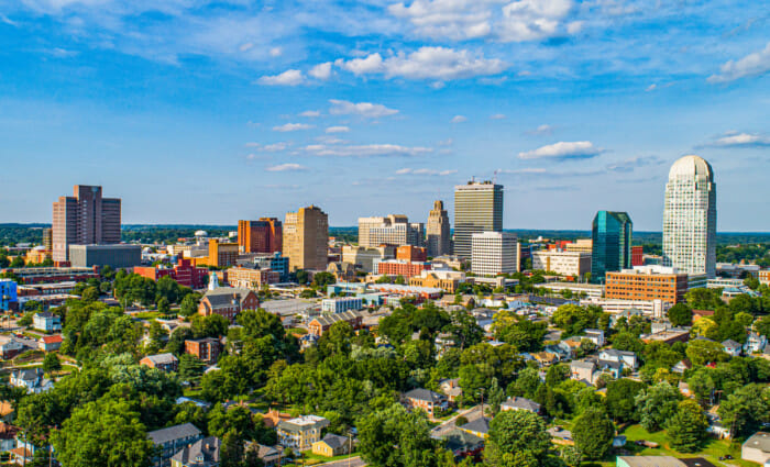 Winston-Salem, North Carolina | 100 Up-and-Coming Real Estate Markets to Watch in 2020 | Buildium